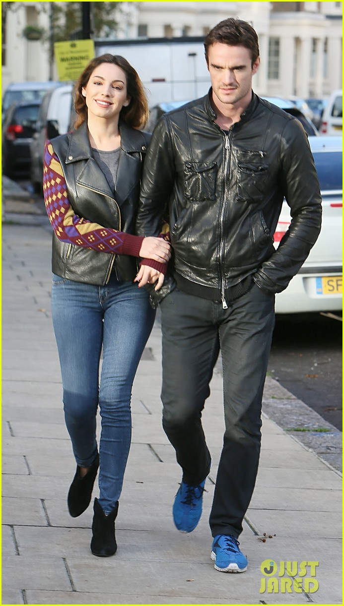 kelly brook birthday stroll with boyfriend 112762992
