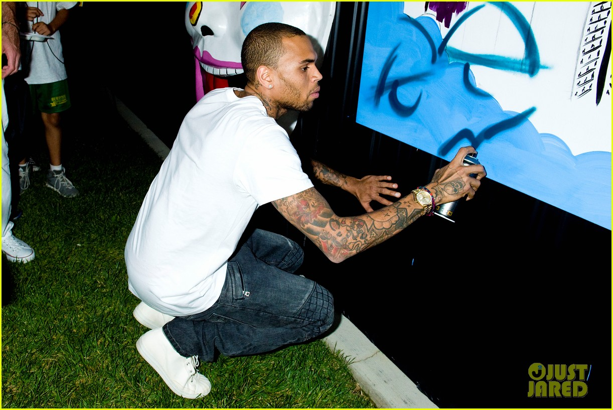 chris brown symphonic love foundation launch video 02