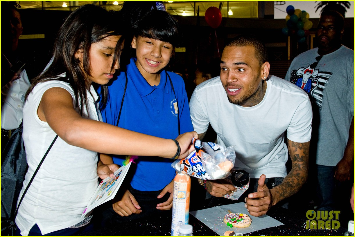 chris brown symphonic love foundation launch video 08
