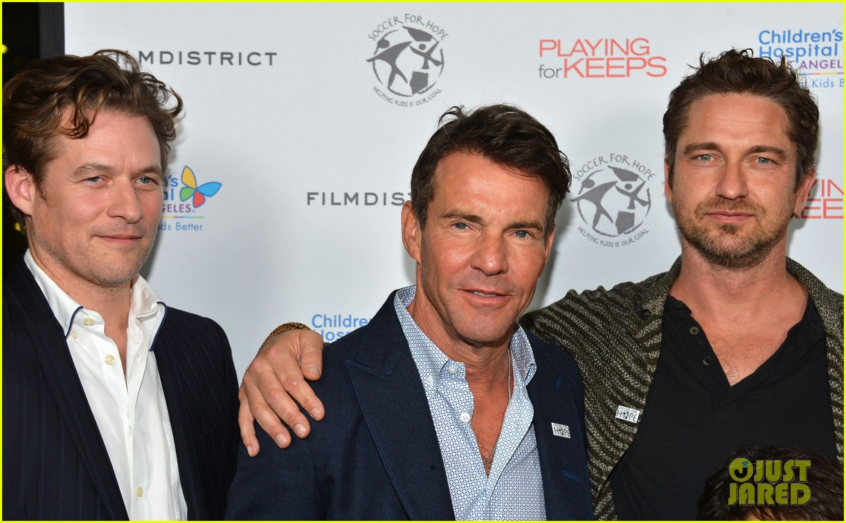 gerard butler playing for keeps childrens hospital screening 23