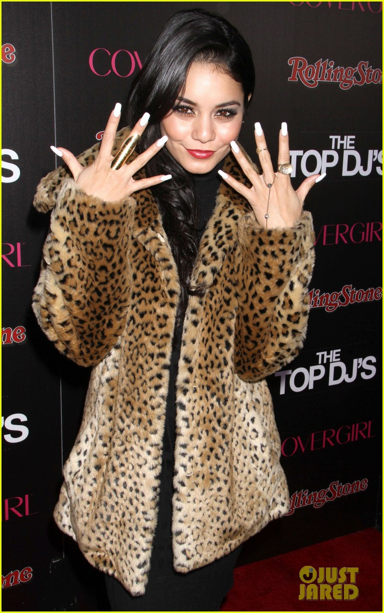 vanessa hudgens rolling stone party with austin butler 092753392