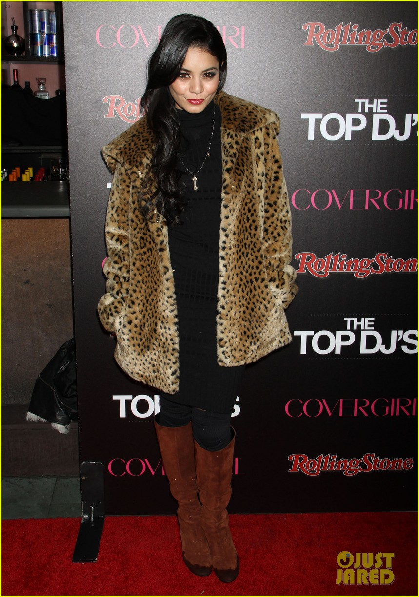 vanessa hudgens rolling stone party with austin butler 182753401