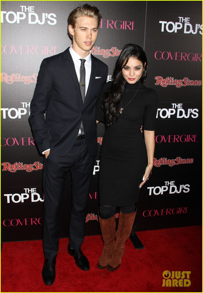 vanessa hudgens rolling stone party with austin butler 22