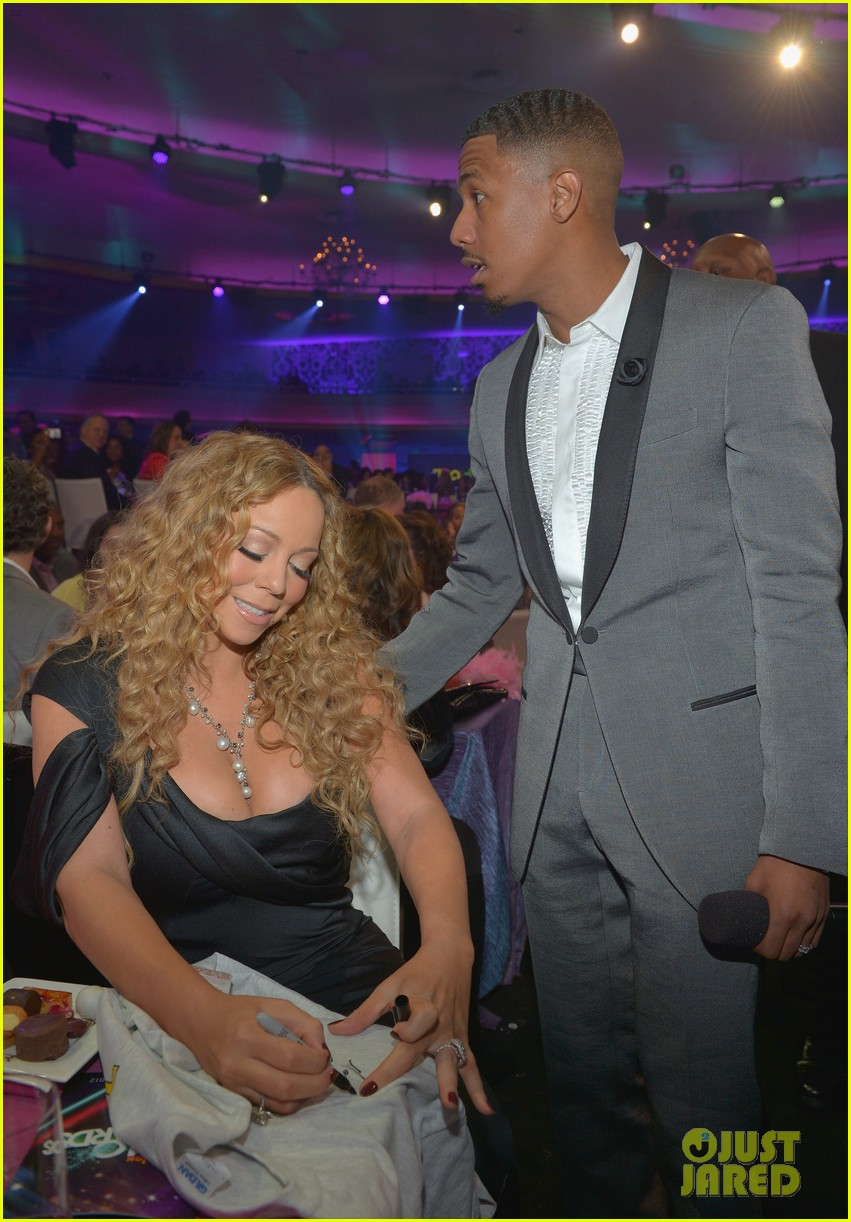 mariah carey nick cannon teennick halo awards 2012 052759712