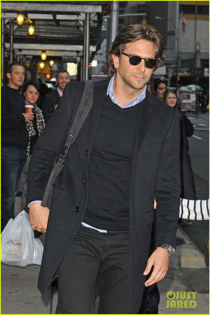 bradley cooper letterman silver linings press conference 072756067