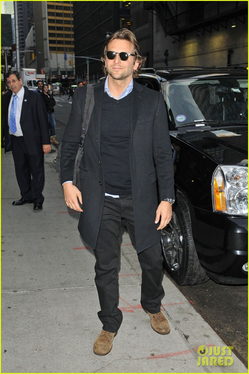 bradley cooper letterman silver linings press conference 082756068