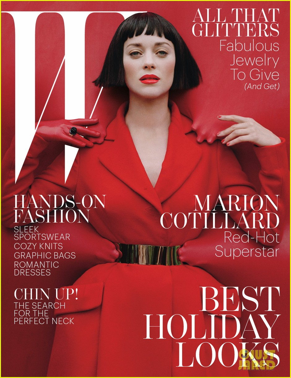 marion cotillard covers w magazine december 2012 052757703