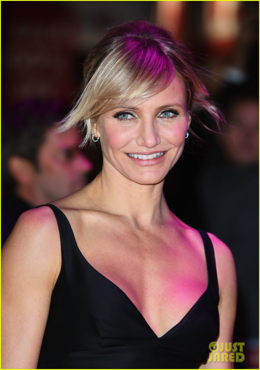cameron diaz gambit world premiere with colin firth 11