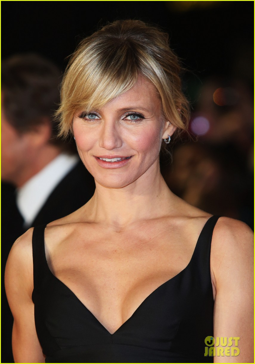 cameron diaz gambit world premiere with colin firth 12