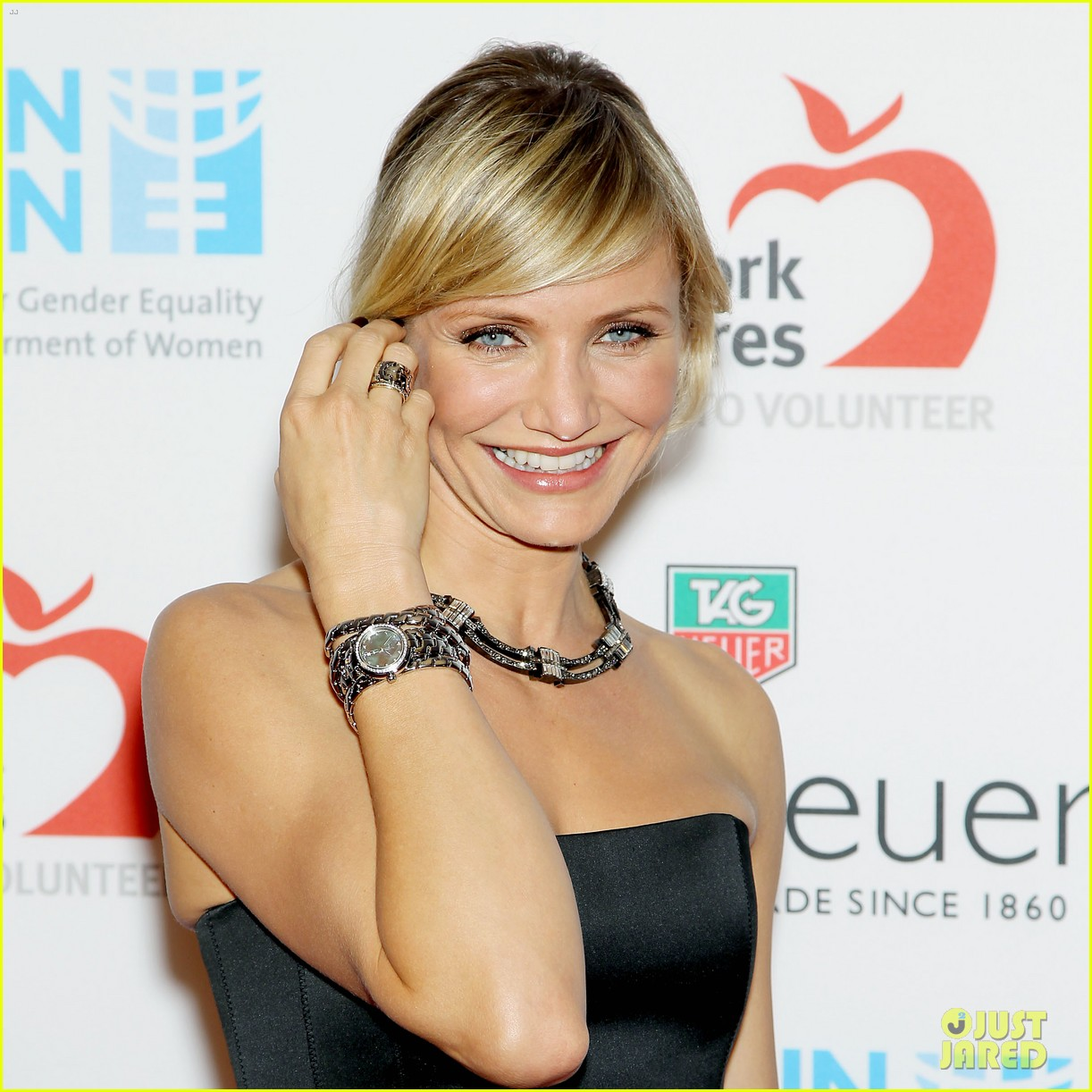 cameron diaz tag heuer watch launch 02