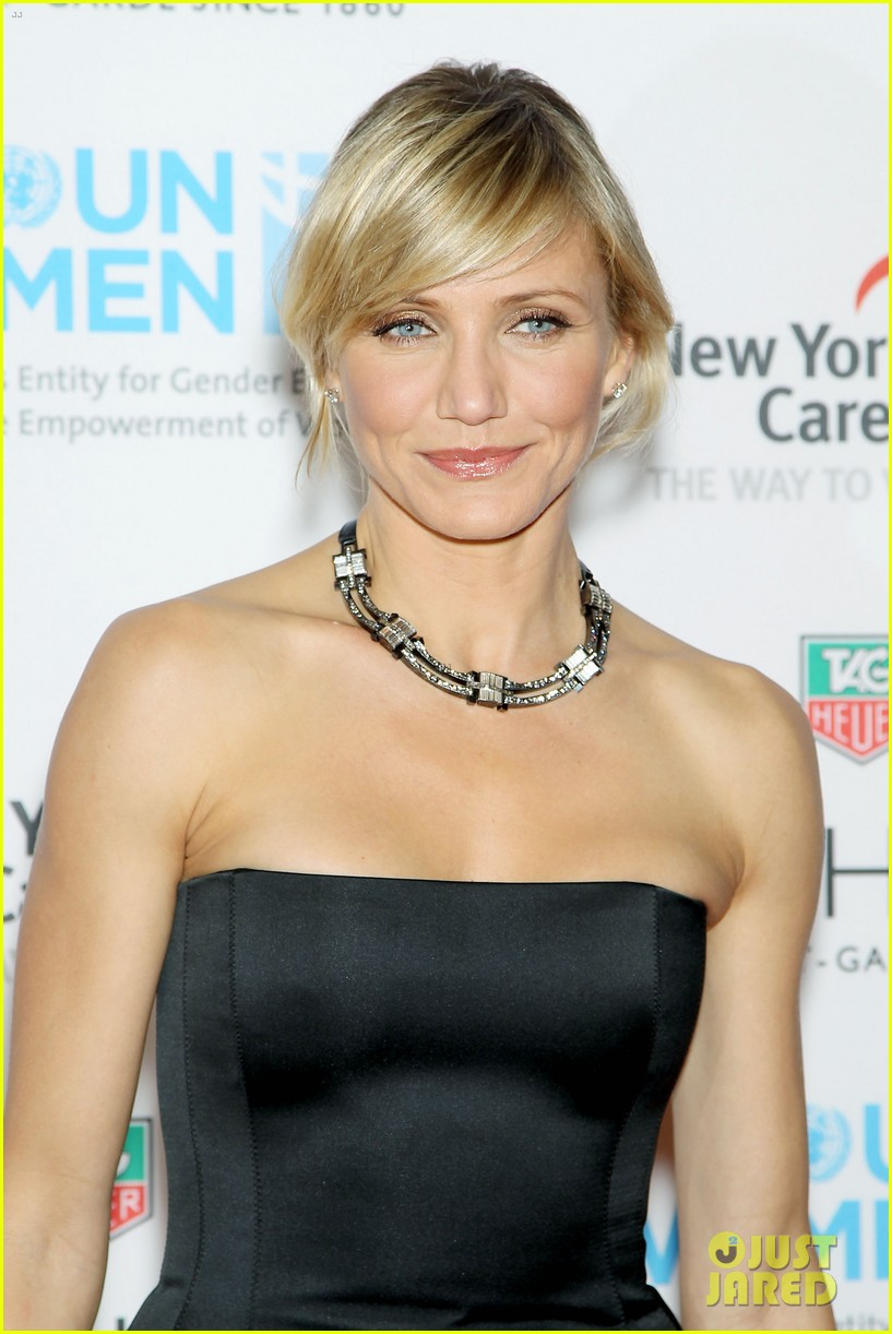 cameron diaz tag heuer watch launch 12