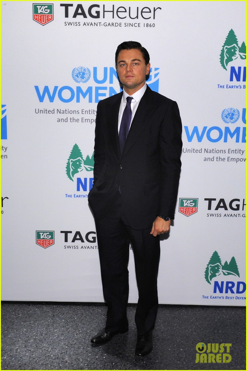leonardo dicaprio tag heuer event with cameron diaz 01