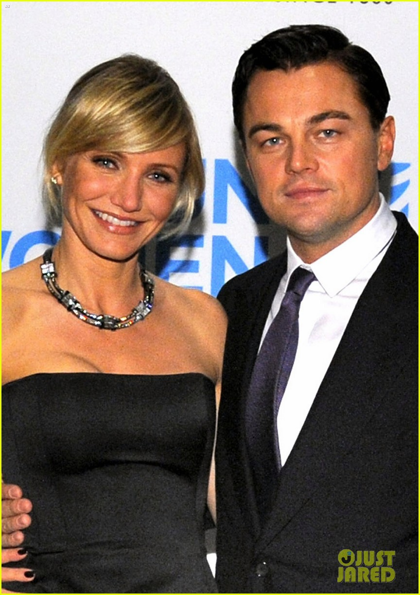 leonardo dicaprio tag heuer event with cameron diaz 02