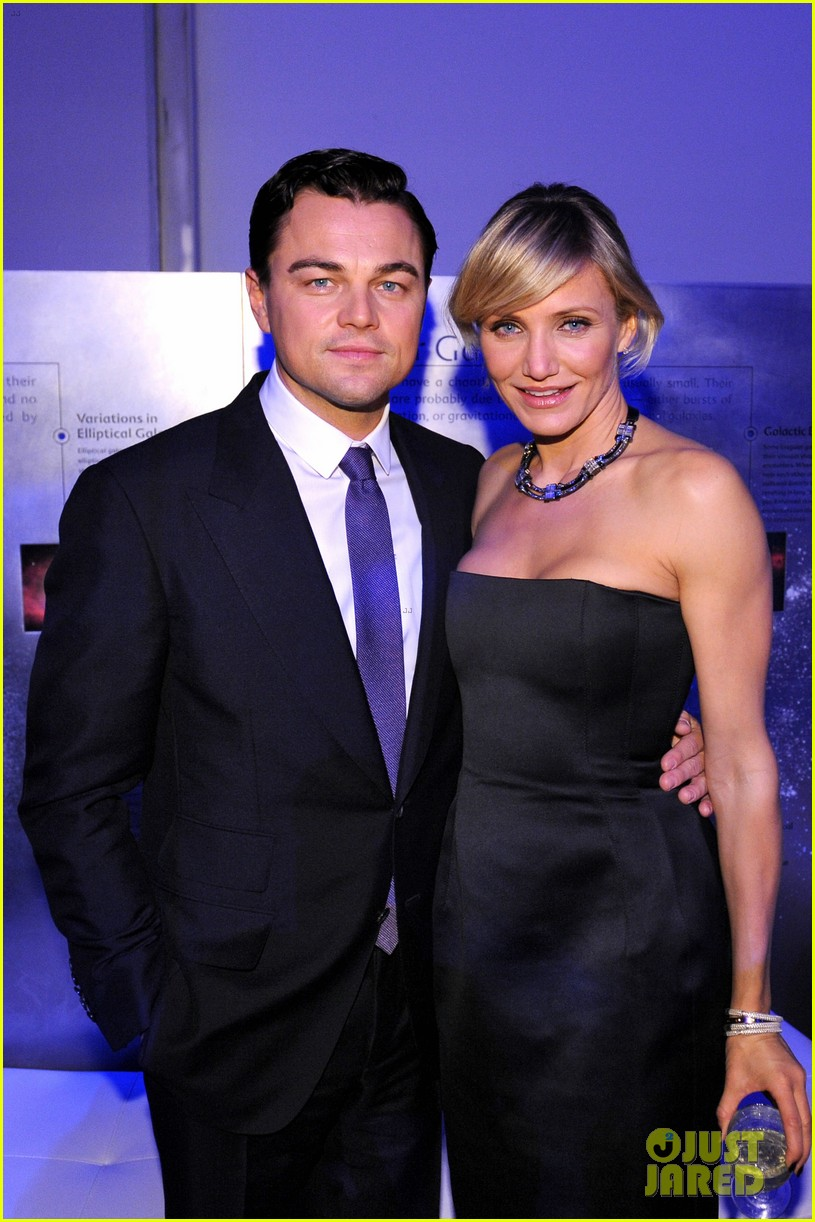 leonardo dicaprio tag heuer event with cameron diaz 032755162