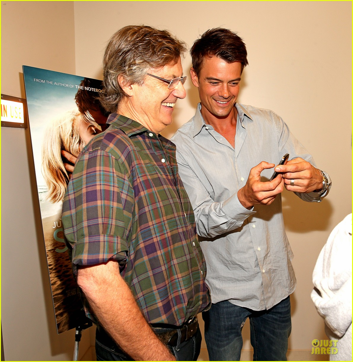 josh duhamel safe haven afi reception 02