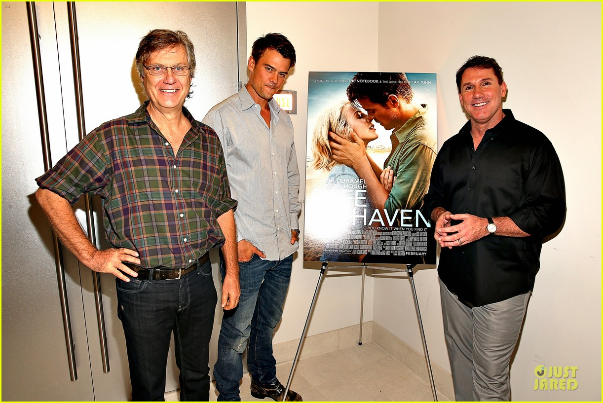 josh duhamel safe haven afi reception 032750204