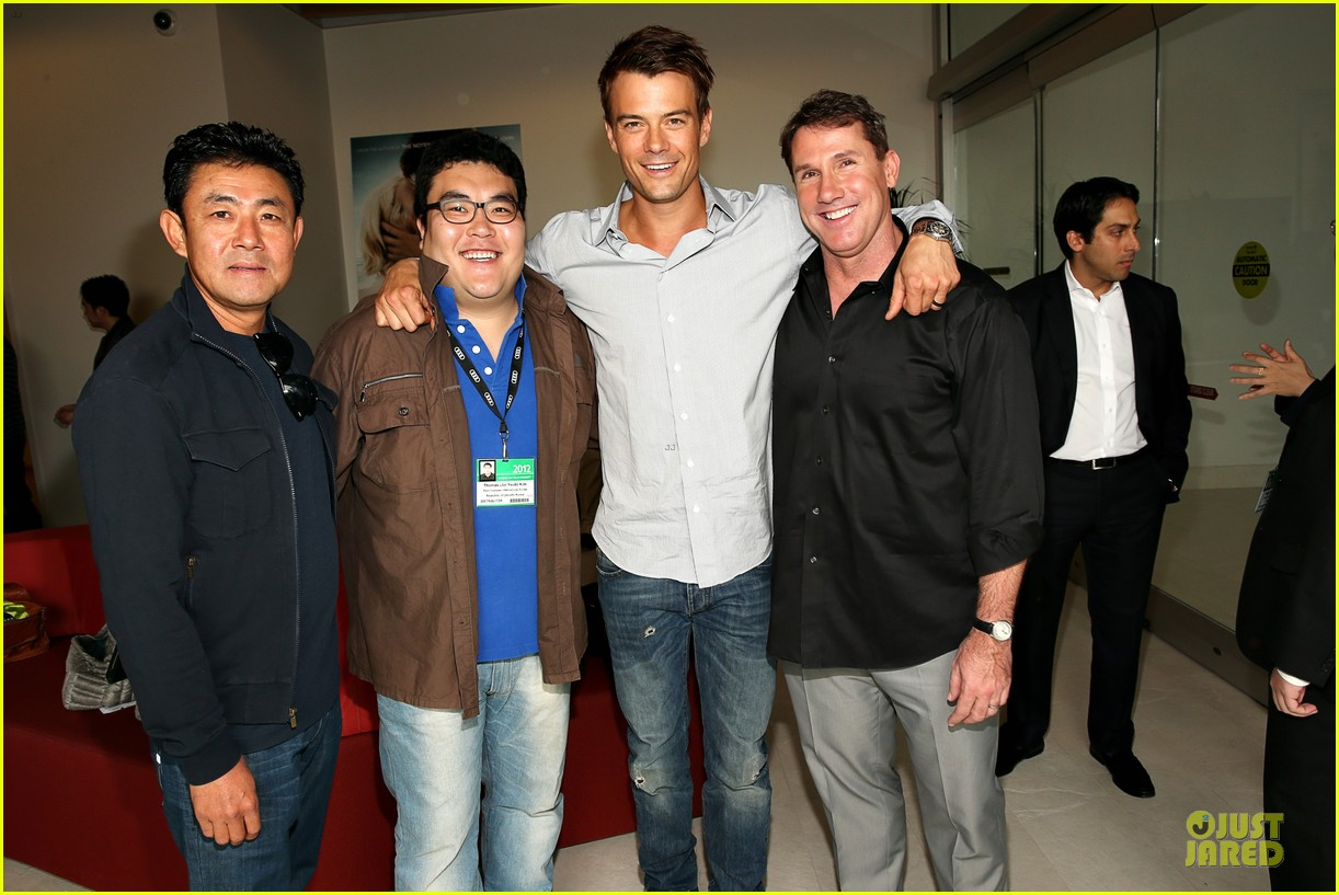 josh duhamel safe haven afi reception 08