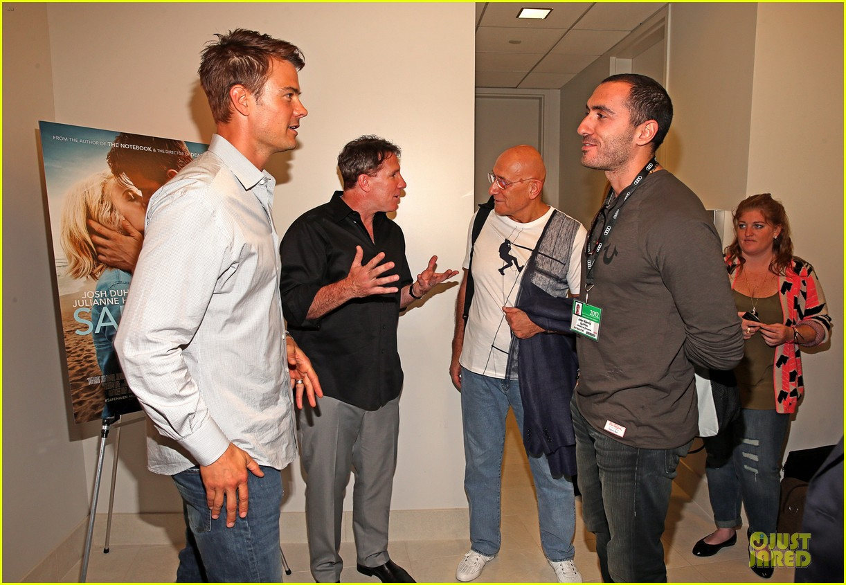 josh duhamel safe haven afi reception 102750211