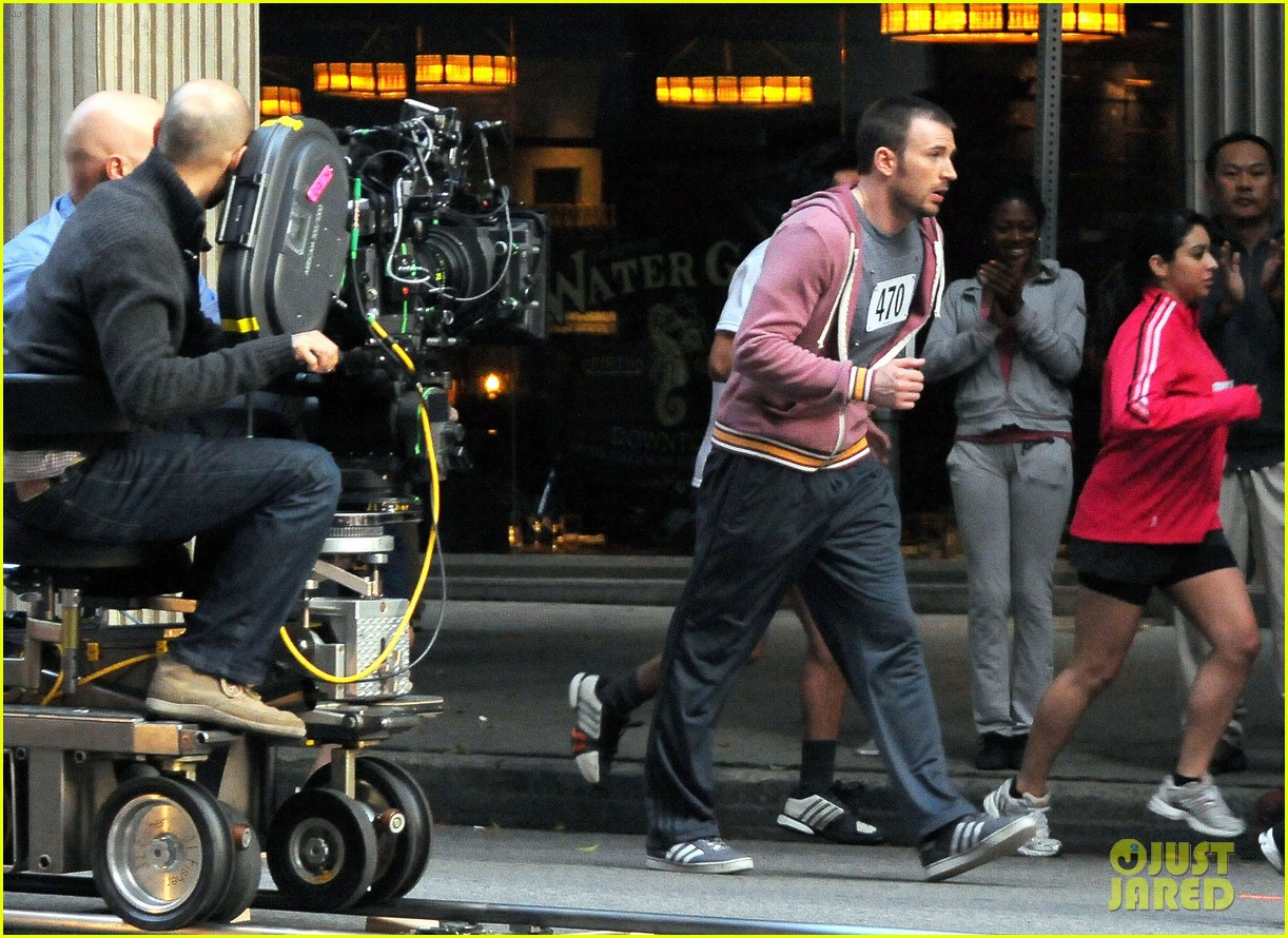 chris evans splintered thing marathon runner 222764751