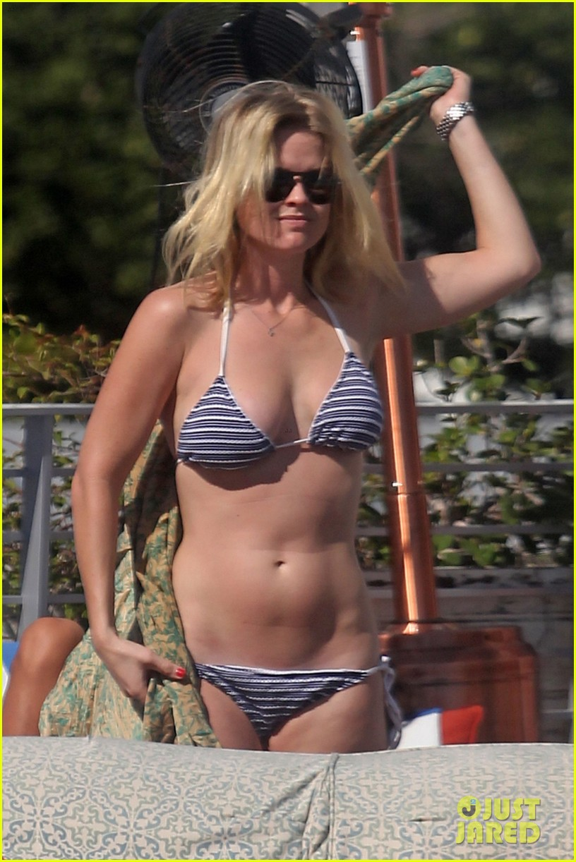 alice eve poolside bikini in miami 03