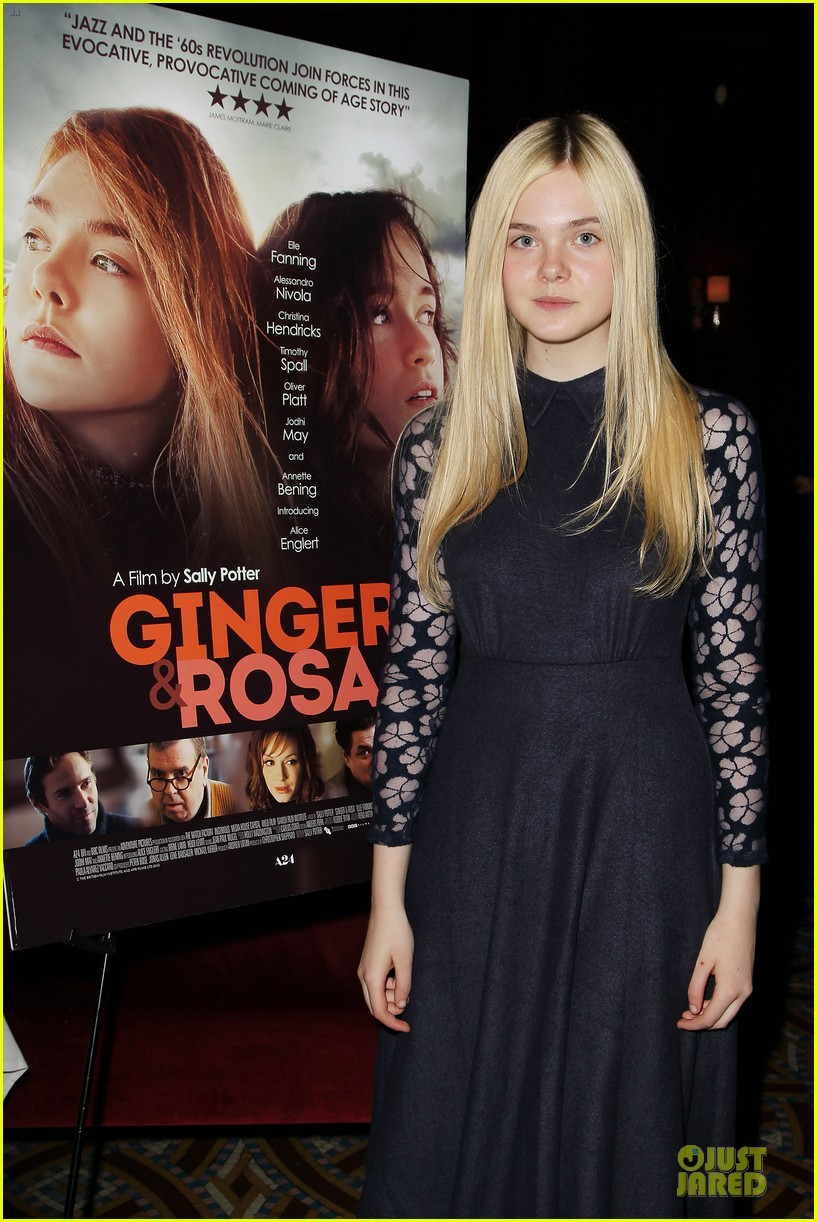 elle fanning ginger & rosa screening after party 02
