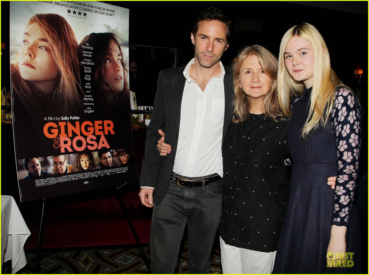 elle fanning ginger & rosa screening after party 04