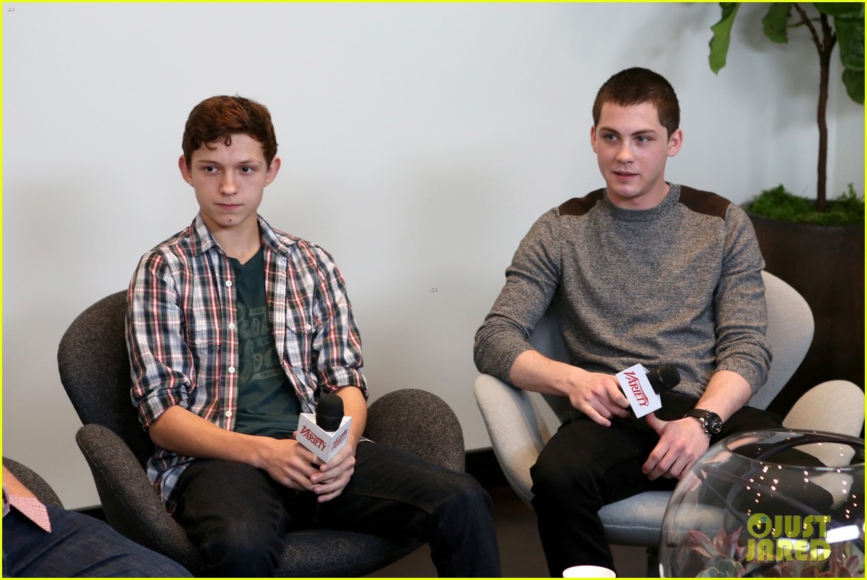 elle fanning logan lerman variety studio awards edition 10