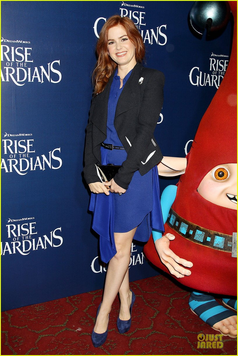 isla fisher rise of the guardians premiere 09