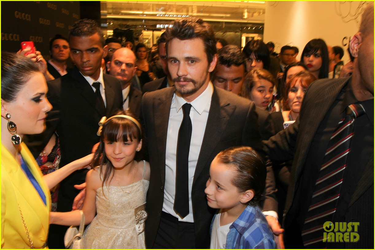 james franco gucci store opening in sao paulo 05