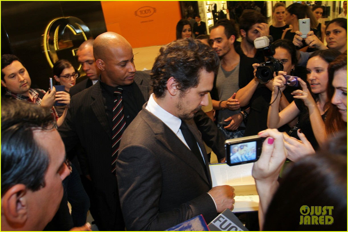 james franco gucci store opening in sao paulo 08