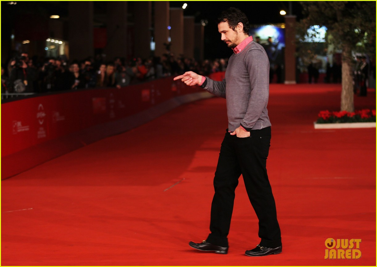 james franco rome film festival attendee 092758958