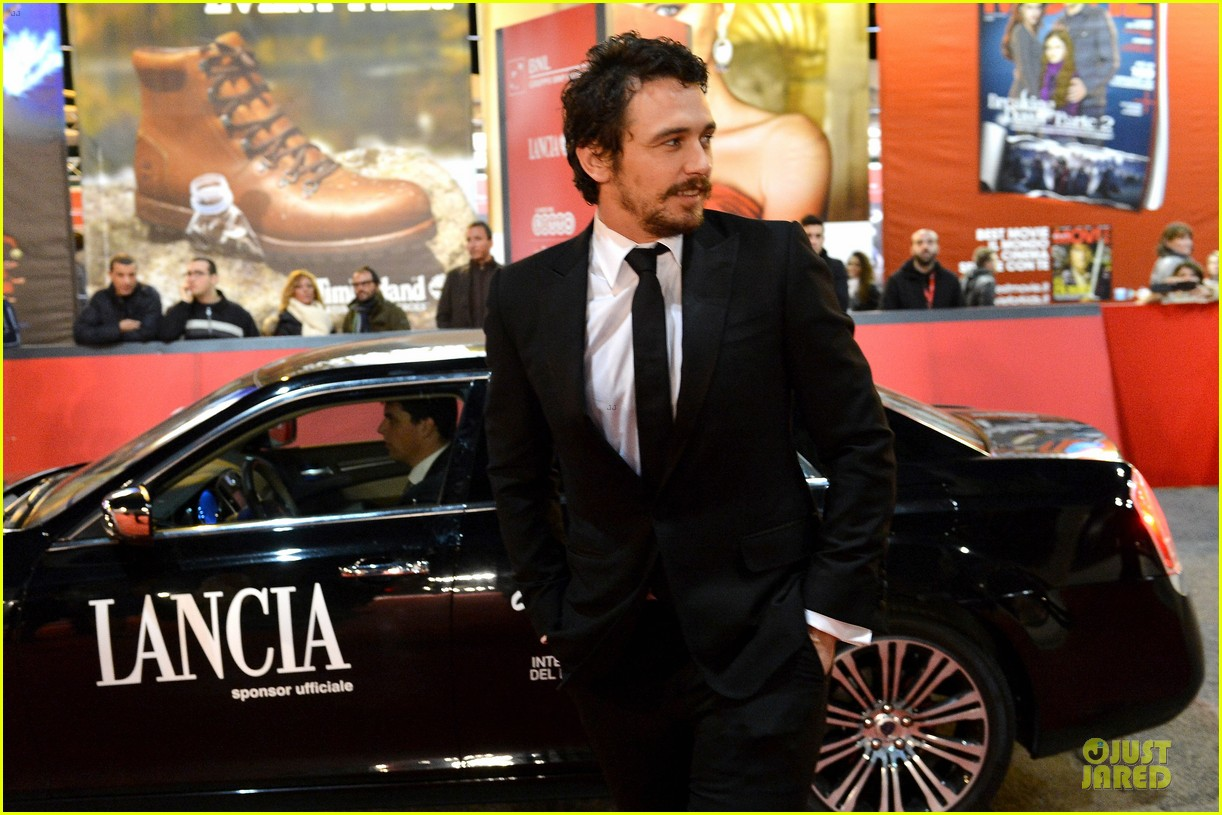 james franco tar rome film festival premiere 082759234