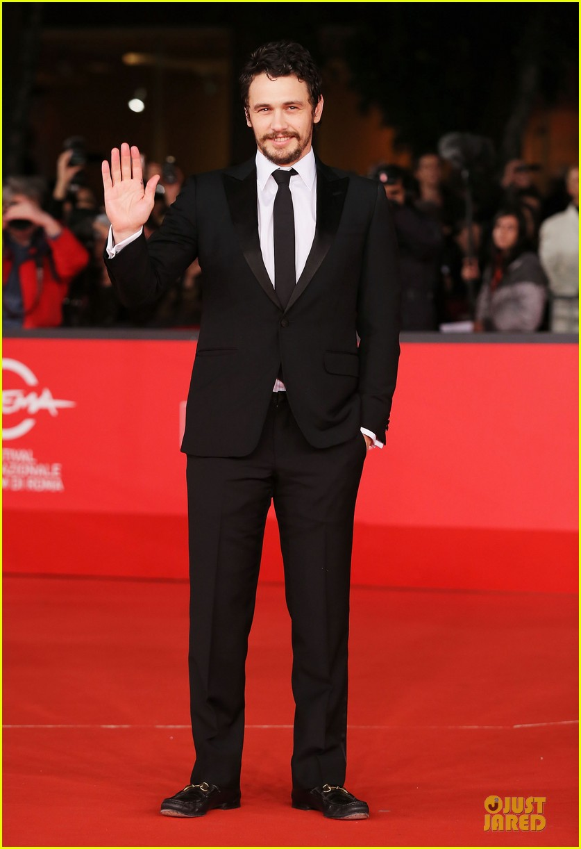 james franco tar rome film festival premiere 15