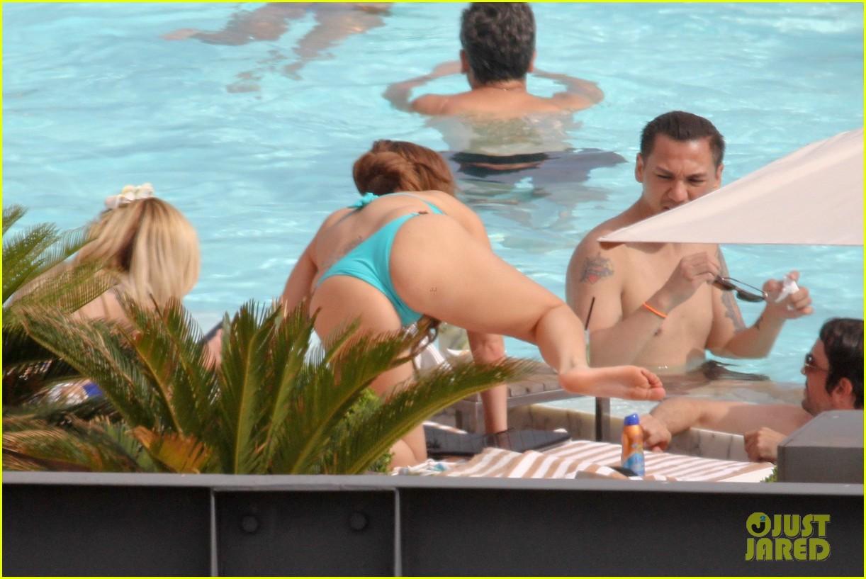 lady gaga bikini poolside babe 132753591