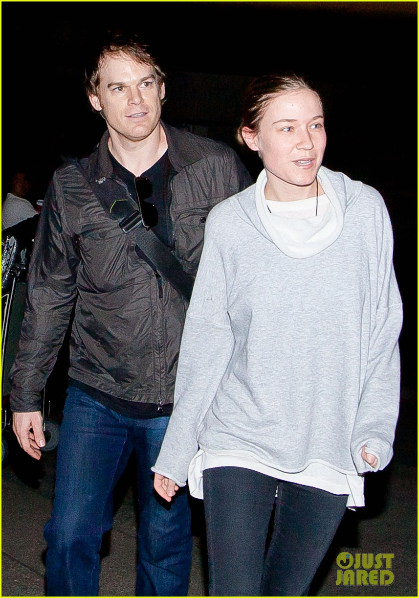 michael c hall morgan macgregor lax arrival 04