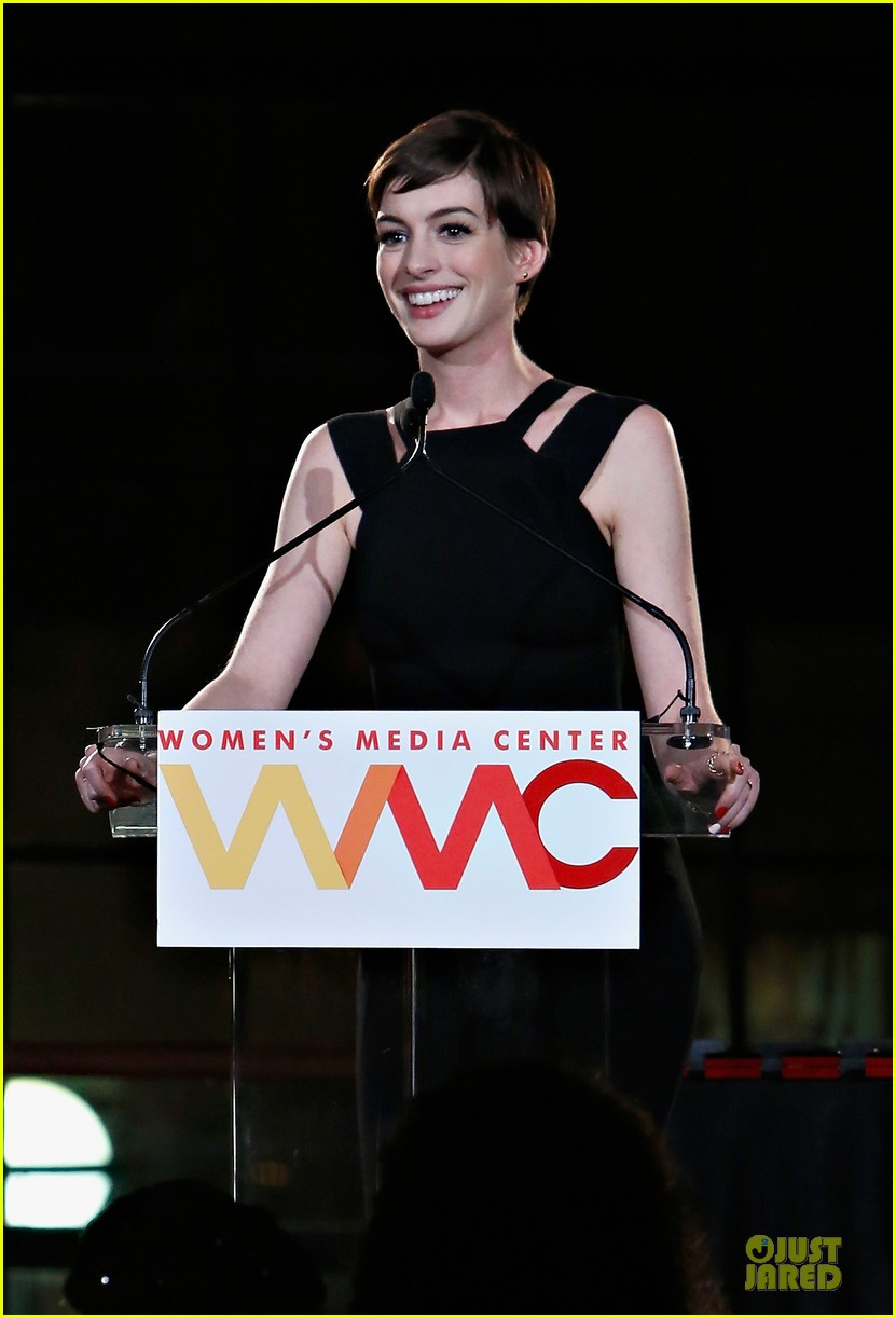 anne hathaway womens media awards 122756869