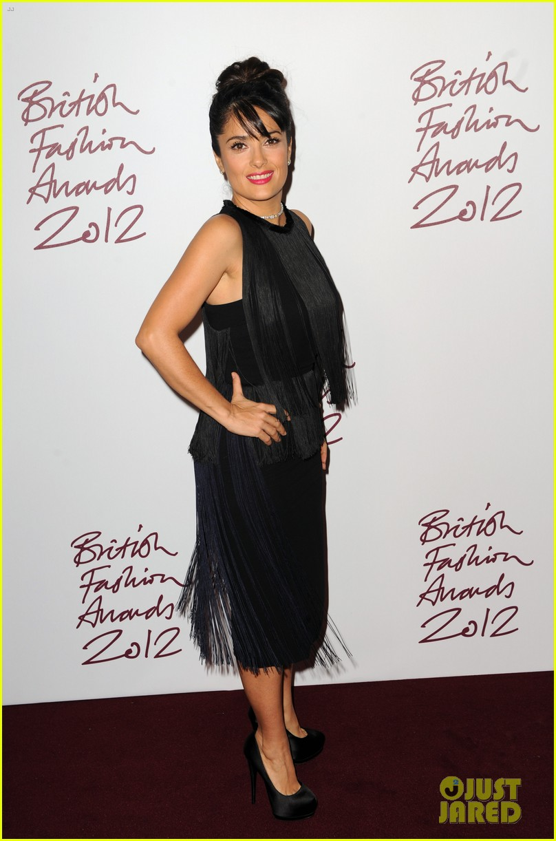 salma hayek rita ora british fashion awards 2012 112764764