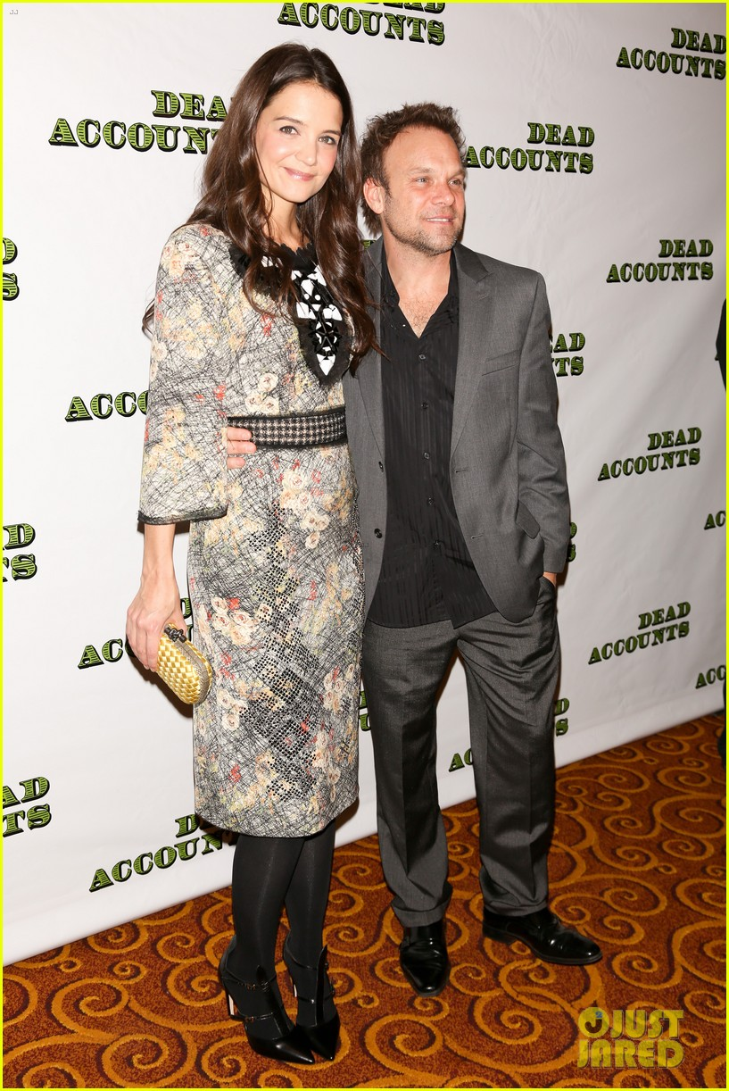 katie holmes dead accounts opening night on broadway 03