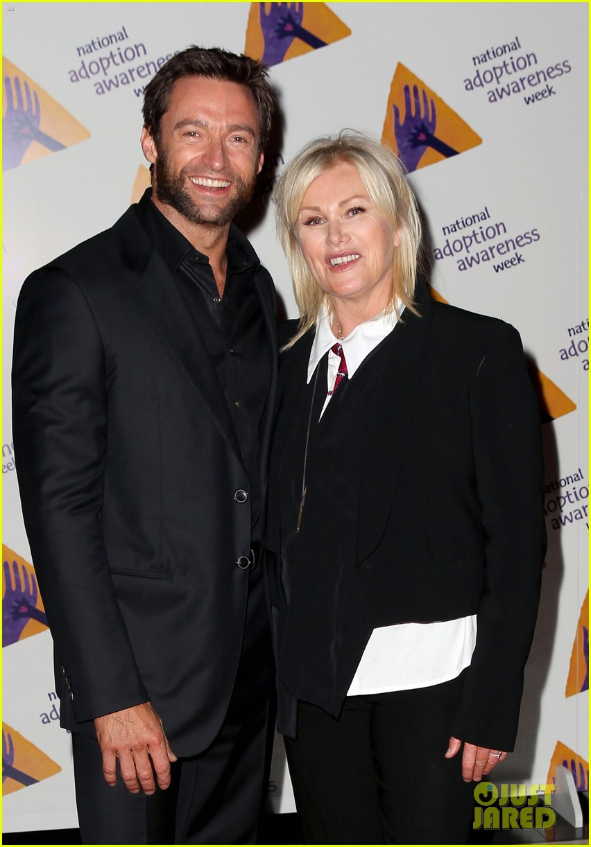 hugh jackman deborra lee furness adoption week event 02