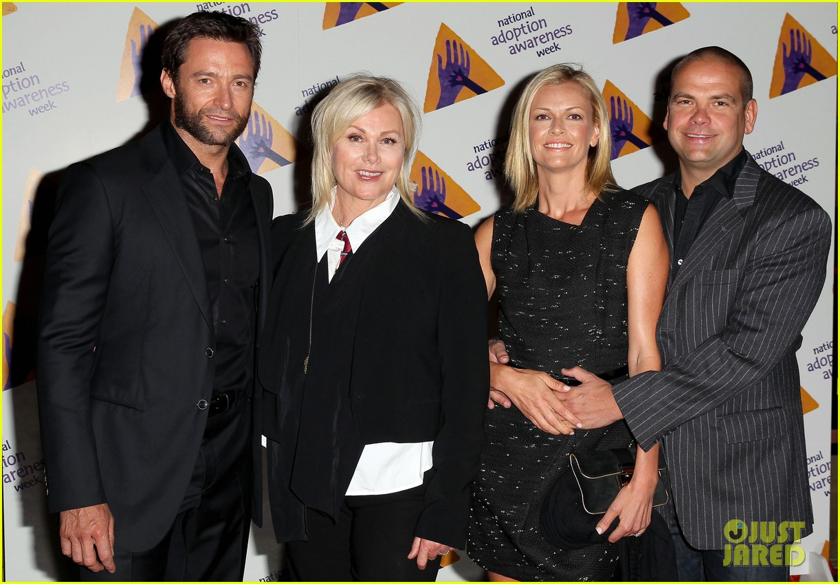 hugh jackman deborra lee furness adoption week event 09