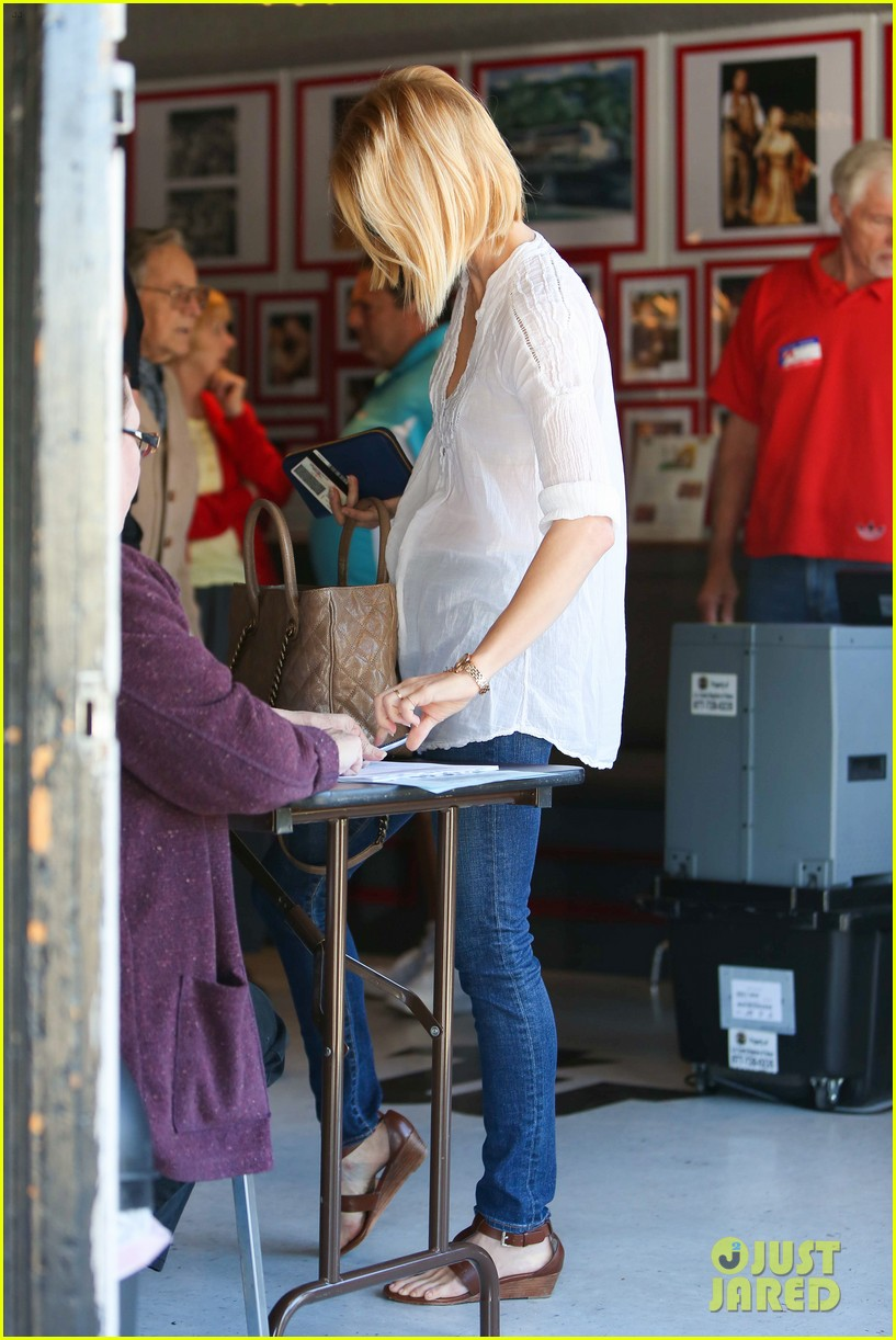 january jones election day voter 24