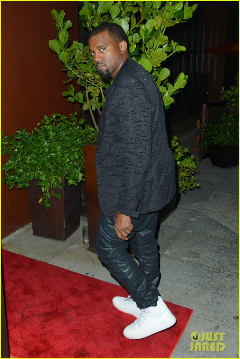 kim kardashian kanye west x factor dinner date 022762391