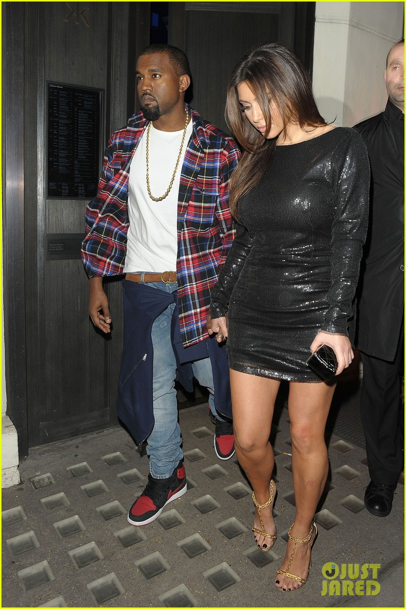 kim kardashian hakkasan dinner with kanye west 05