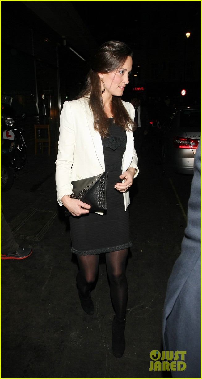 duchess kate pippa middleton separate london outings 06