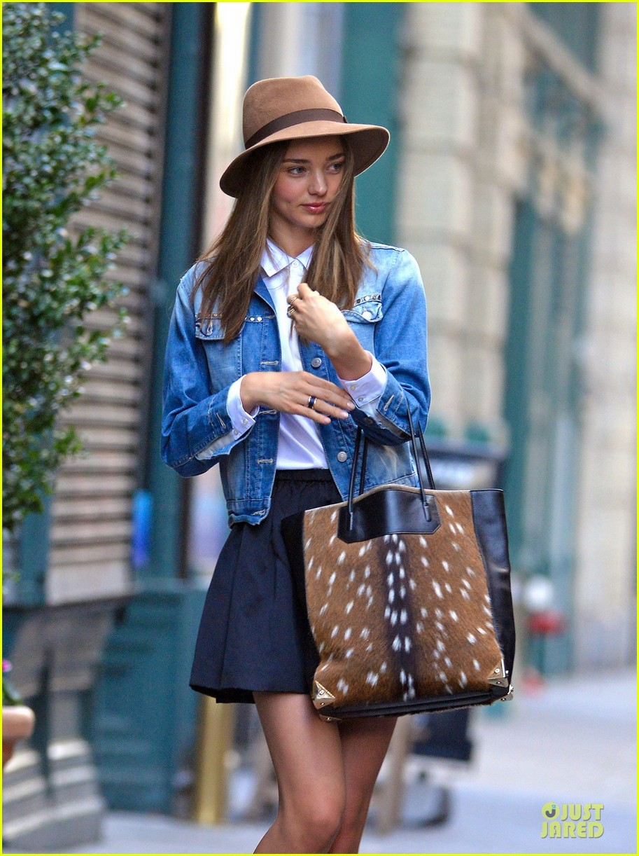 miranda kerr denim day in new york 082763200