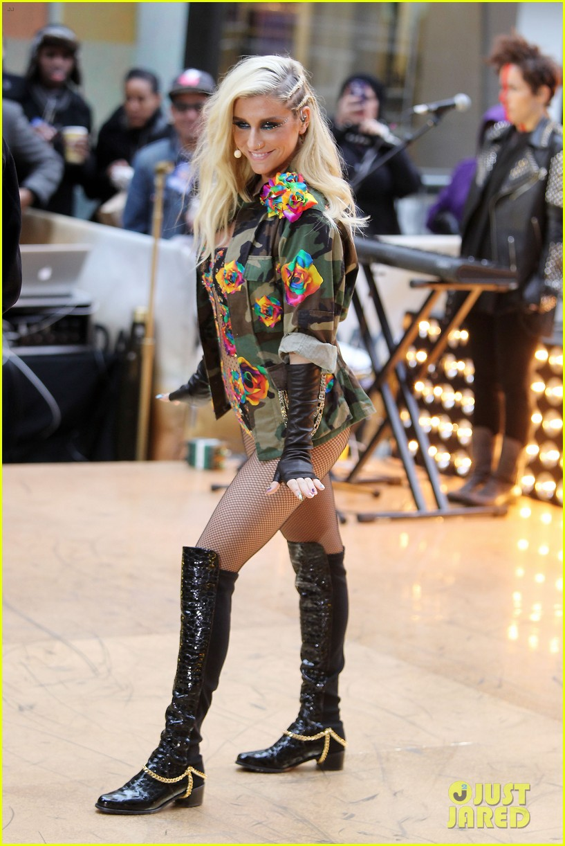 kesha today show concert watch now 01