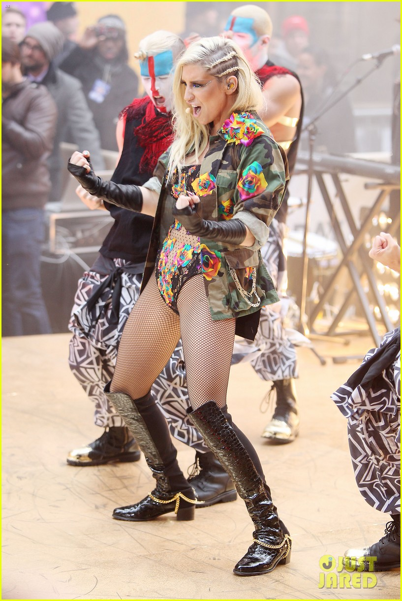 kesha today show concert watch now 21