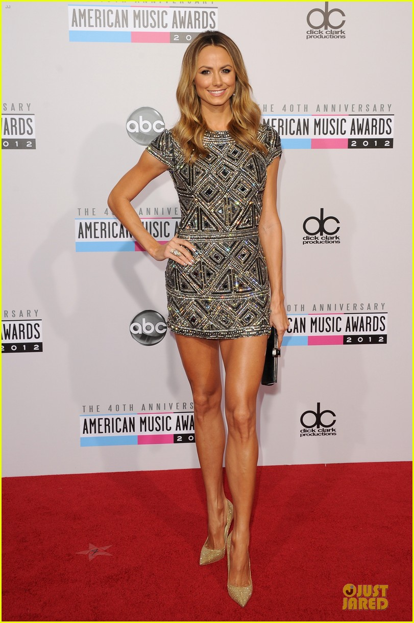 stacy kiebler amas red carpet 03