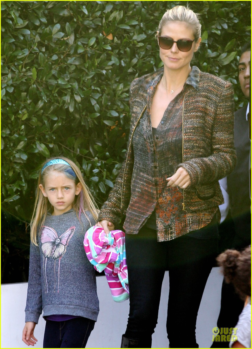heidi klum lunch stop with the kids 04