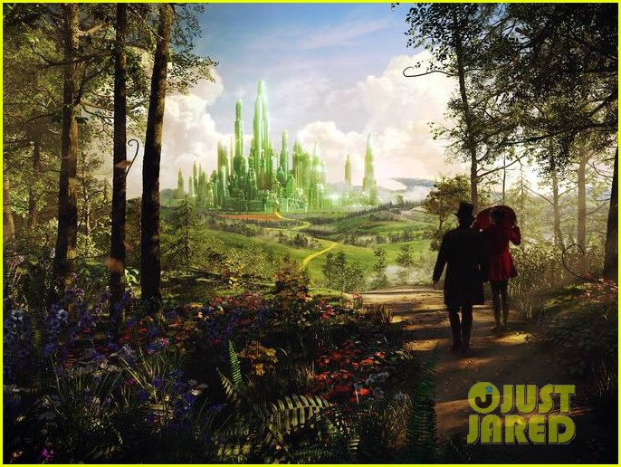 mila kunis new oz the great and powerful poster pics 15